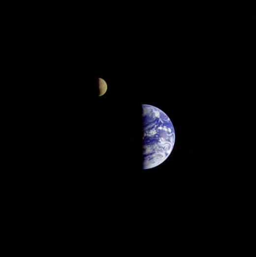 The Earth and Moon System