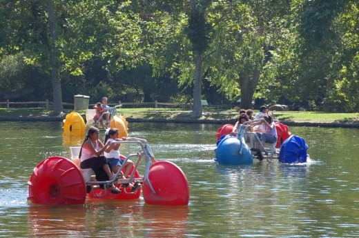 Water biking can be a great way to have a great time!