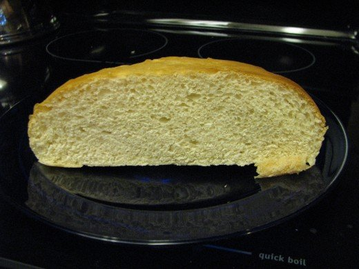 Recipe makes a nice, fine-textured bread which is great for sandwiches, toast or with bread and butter.