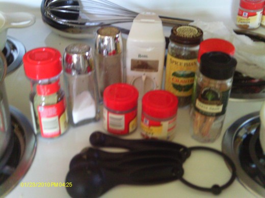 Blend a variety of spices