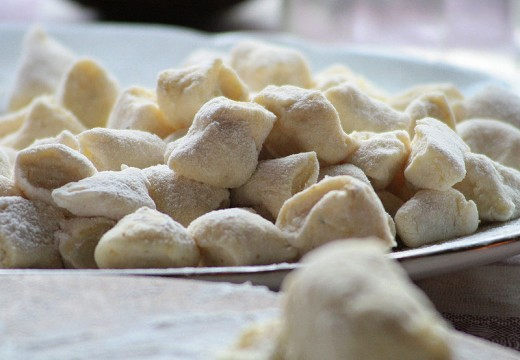 Gnocchi, ready to be cooked,
