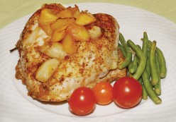 Easy Maple, Apple & Cheese Chicken Breast Recipe