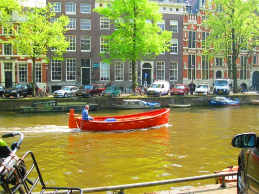 Canals in the Jordaan