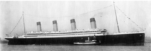 We see this ship and immediately think of the Titanic.  but this is her younger sister, the Brittanic, sunk by a mine in WW1
