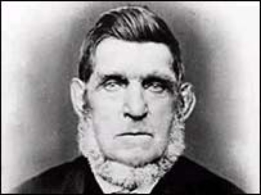 Bendigo Thompson in later life when he was a preacher