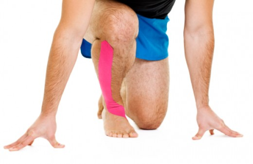 Kinesio Tape for Amateur Athletes, Runners and Joggers
