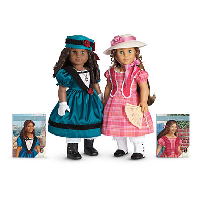 Cécile & Marie-Grace live in New Orleans during the 1850s (dolls are sold separately).