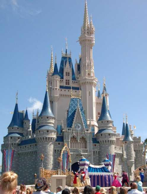 There is also Disney World.  A truly treasured memory from my childhood was going to Disney World and another treasured memory was taking my daughter there, so that she could experience it as well.  Cinderella's Castle is an iconic image photo by AMB