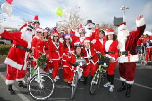 The Great Las Vegas Santa Run for Opportunity Village.