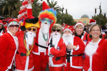 "So many cute variations of ""Santa's"""
