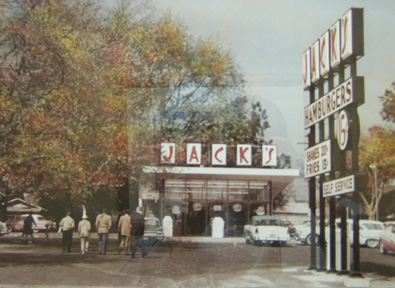 In 1960, Mr. Jack Caddell, started more than a fad, but an important moment in history with the opening of his chain of famous restaurants, Jack's, which is still around in 2011.