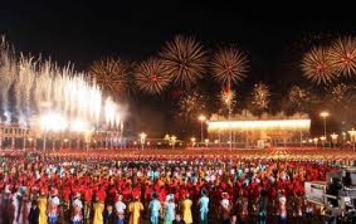 China's National Day Celebration