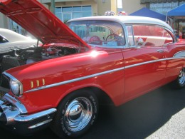 One of the beautiful cars from the Henderson, NV car show.