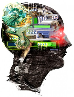 Complex organic computer - we consciously use just a tiny part of its power, rest is simply waiting for better programs.