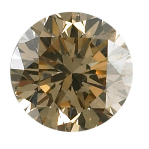 Loose .07 Carat Natural Chocolate Colored Round Diamond $55.00