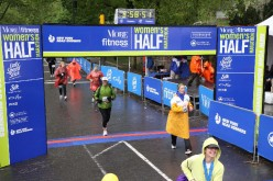 What a feeling to cross a finish line.  There's nothing like it.  Especially when it's your first.