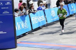 This was the finish of my second half marathon - April 2011.  It was wonderful.