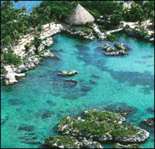 Xel Ha - A Beautiful Ecological Park (photo courtesy of newtothis-rachel.blogspot.com)