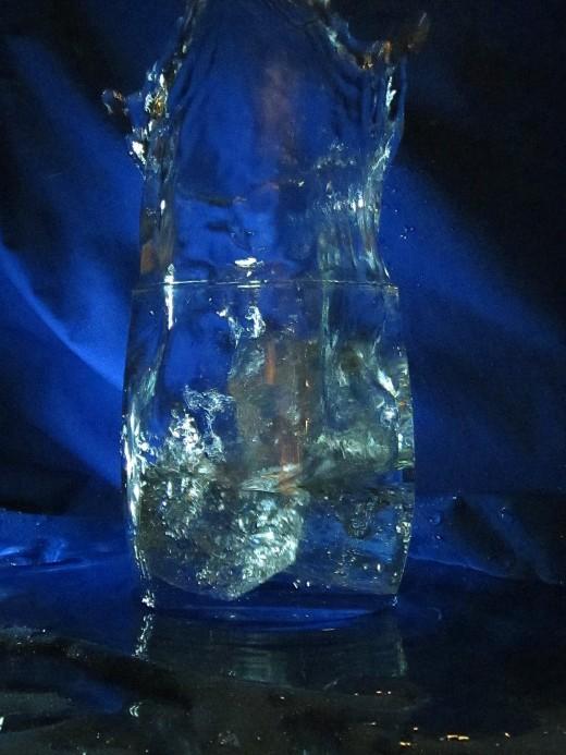 day 25 extra- water glass splash