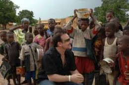 Bono in sub-Saharan Africa: a routine occurrence since 1986.