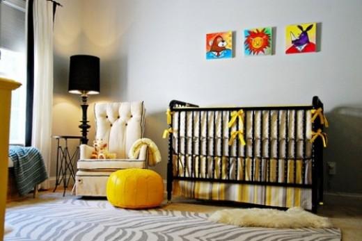 Black Jenny Lind Crib