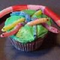 Gummy worm cupcake by Cupcake Creations