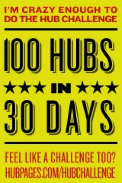 100 Hubs in 30 Days Challenge