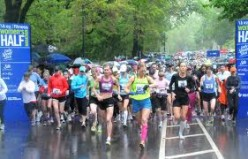 The start of the More/fitness Magazines Half Marathon in 2010. Picture courtesy of More Magazine and NYRR Club.