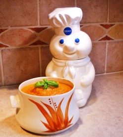 Savory Roasted Pumpkin Soup, a Heart Healthy Choice