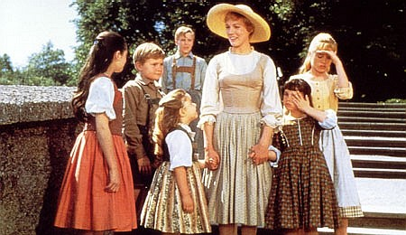 """Scene from the movie, """"The Sound of Music,"""" filmed on location in Salzburg, Austria."""
