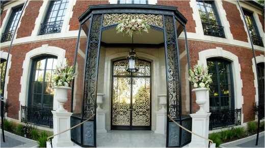 The Main Door of Cravens Estate