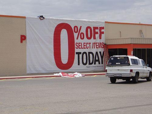 Not The Kind Of Clearance Sale You Want to Go to...