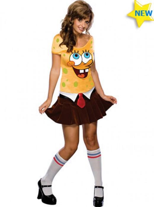 SpngeBob Womens Costume