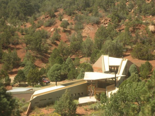 better pic of the hillside house