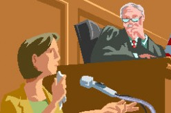 Testifying In Court by JT Walters