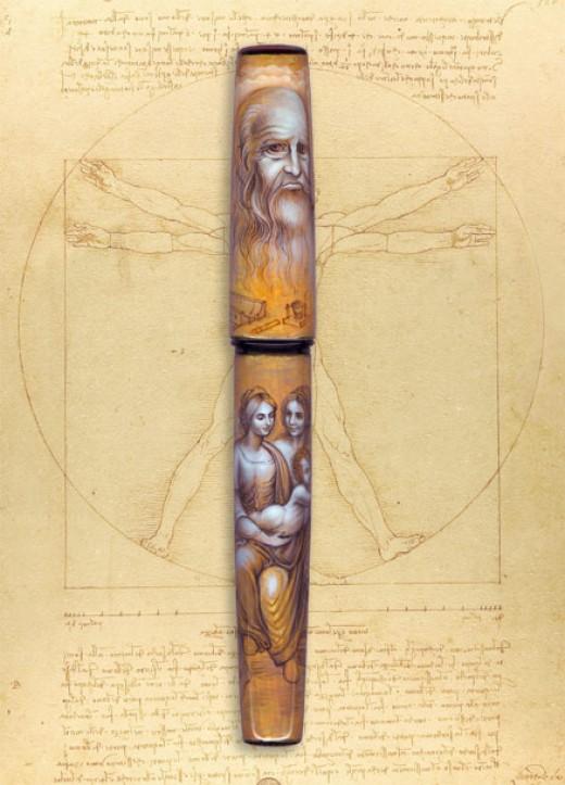 Leonardo da Vinci from Kynsey Pen