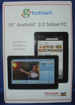 ViewSonic G-Tablet 10