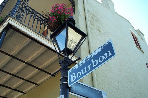 One Of The Most Famous Streets In The World, Bourbon Street.