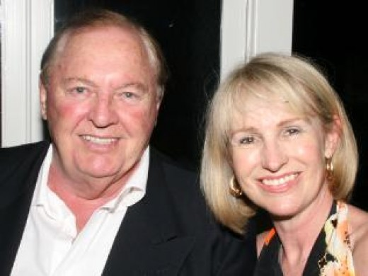 Alan Bond and his wife Di Bliss- spending up big with other peoples money!