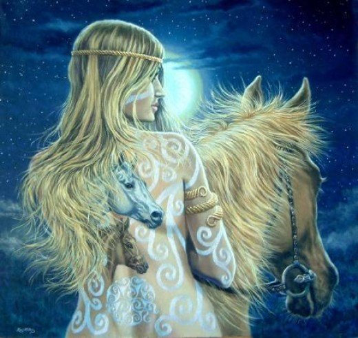 Epona - Celtic Horse Goddess