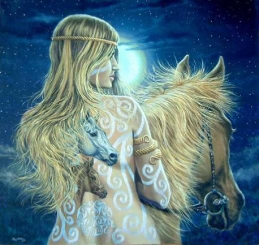 Epona - Celtic Horse Goddess