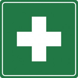 First Aid Sign/Label