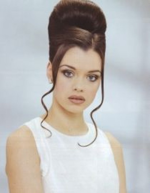 high beehive hairstyle classic for weddings 9. Series of Beehive Hairstyles