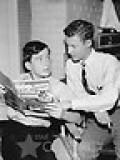 JERRY MATTHERS, (LEFT), AS BEAVER CLEAVER, RECEIVES VALUABLE TUTORING FROM KNOWLEDGEABLE EDDIE HASKELL.