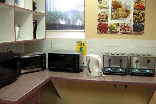 Toaster area.