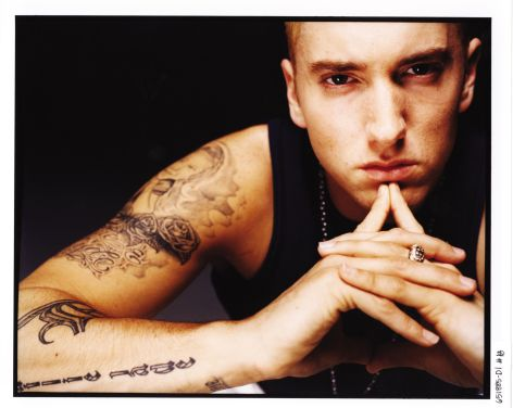 Even Eminem has to think hard to decide...