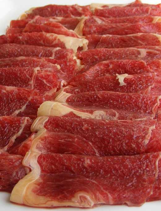 Beef in high in saturated fat, so consume sparingly!