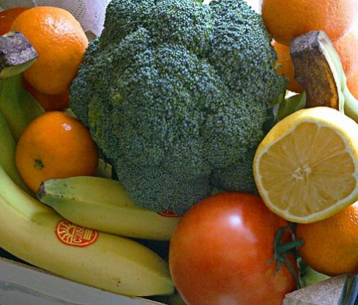fruits and vegetables are critical in your diet