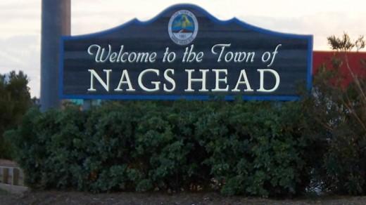Nags Head North Carolina On The Outer Banks Of North Carolina