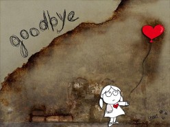 Goodbye is always the hardest part